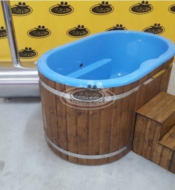 Ofuro vasca da bagno in legno