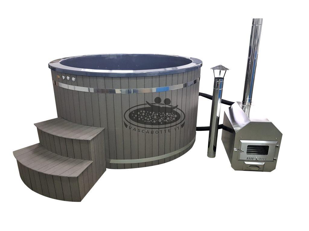 stufa per riscaldare mini piscina calda