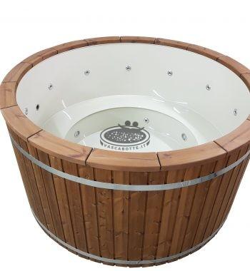 Hot Tubs Vasca idromassaggio in legno e polipropilene