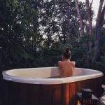 Vasca Tinozza da bagno ofuro in legno