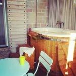 Vasca in legno per spa